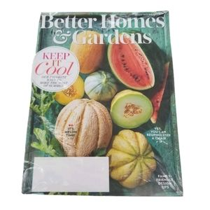 Better Homes and Gardens August 2020 Magazine BHG